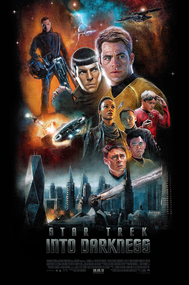 Blurppy - Star Trek Artshow Paul Shipper