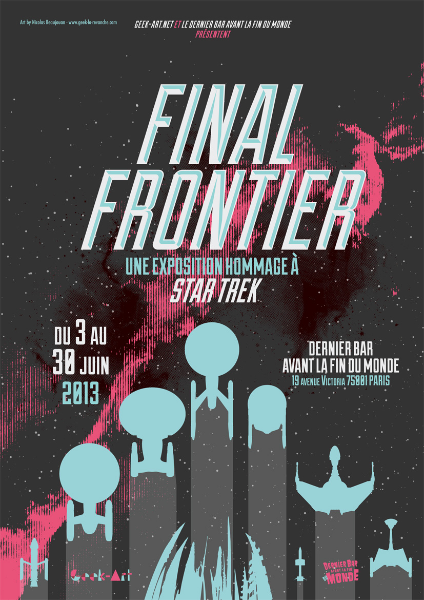 Star Trek Artshow Final Frontier VF