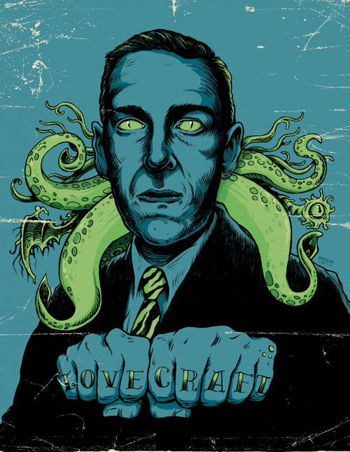Gary Pullin - Lovecraft Portrait