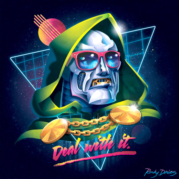 Rocky-Davies-Villains-80s-Album-Cover-Do