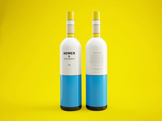 Constantin Bolimond and Dmitry Patsukevich - Simpsons Wine Bottles 2