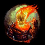 James Bousema - Movember Super Heroes Ghost Rider