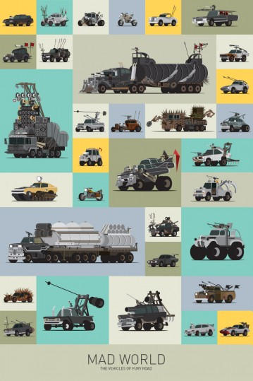 Scott Park - Mad World - The Vehicles of Fury Road