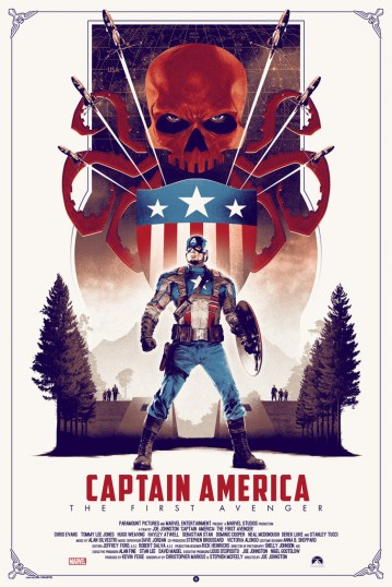 Captain America- The First Avenger by Matt Ferguson Regular
