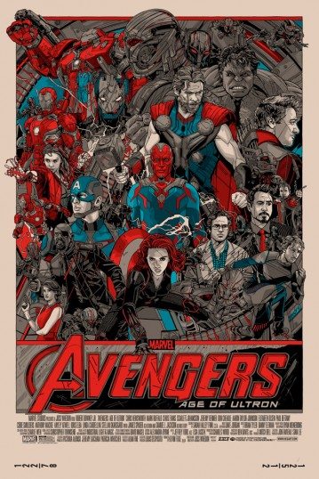 Tyler Stout - Avengers- Age of Ultron Regular Edition