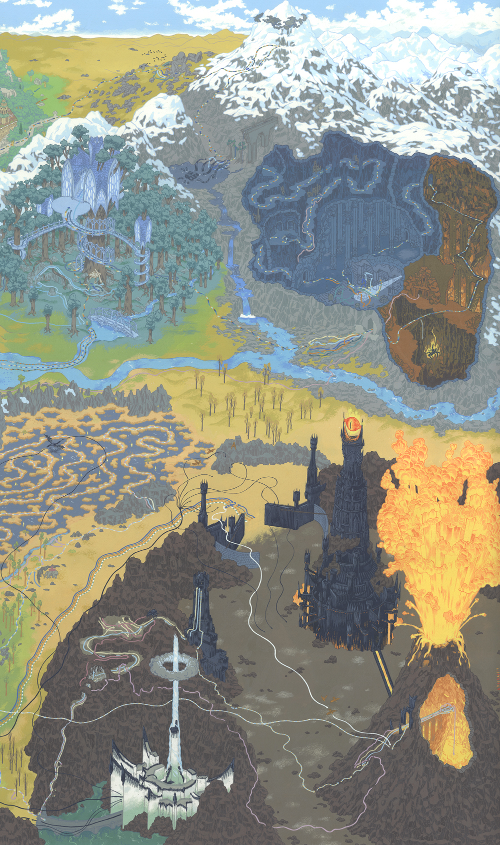 Andrew DeGraff – Cartography Art Show @Gallery 1988