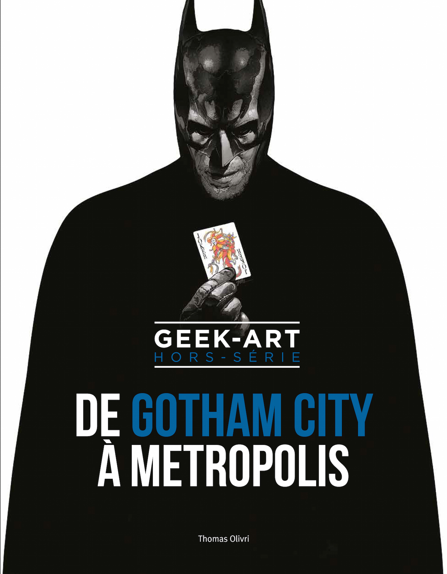 From Gotham to Metropolis – A Special Geek-Art DC Comics Art Book With French Paper Art Club