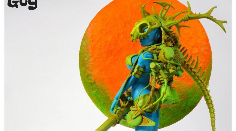 Moonstone by House of Gog : Pascal Blanché inspired Statue